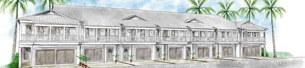 125 Crystal Beach Drive townhomes