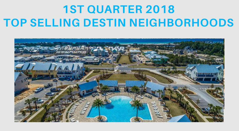 2018 neighborhood stats Destin