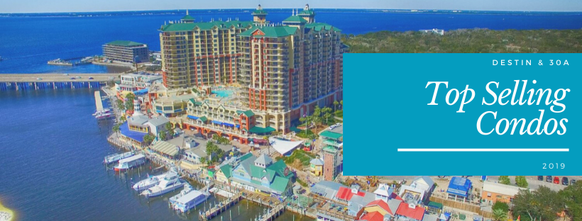 2019 Top selling condos in Destin, Florida