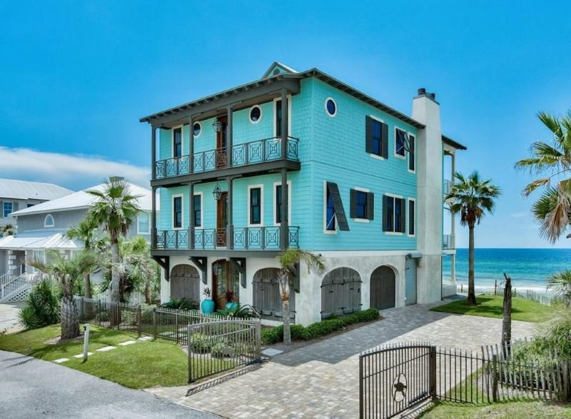 30a beachfront home for sale santa rosa beach fl for 30a home builders