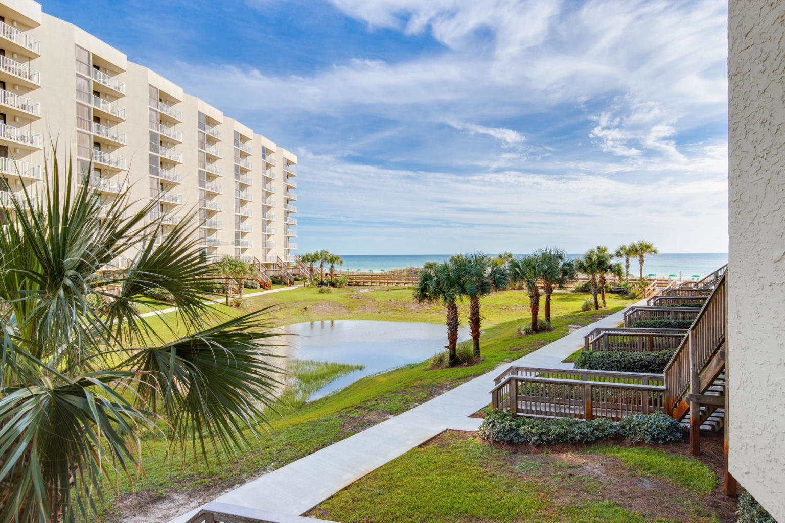 Mainsail condo Gulf view