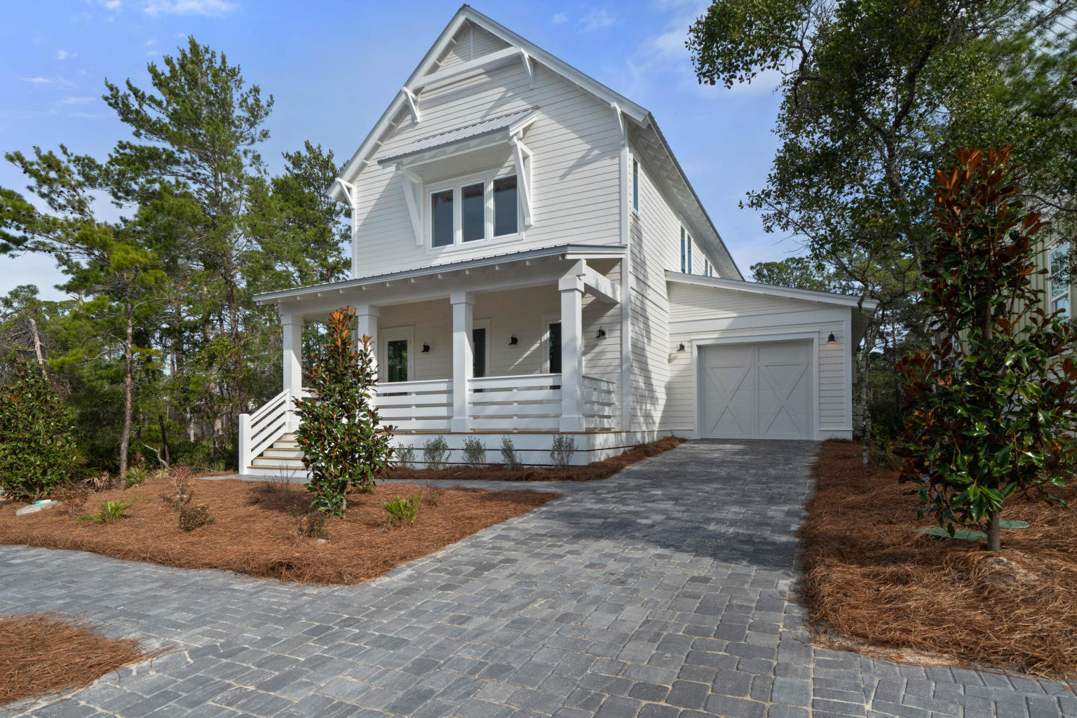 front view of home for sale in Lakeside at Blue Mountain Beach