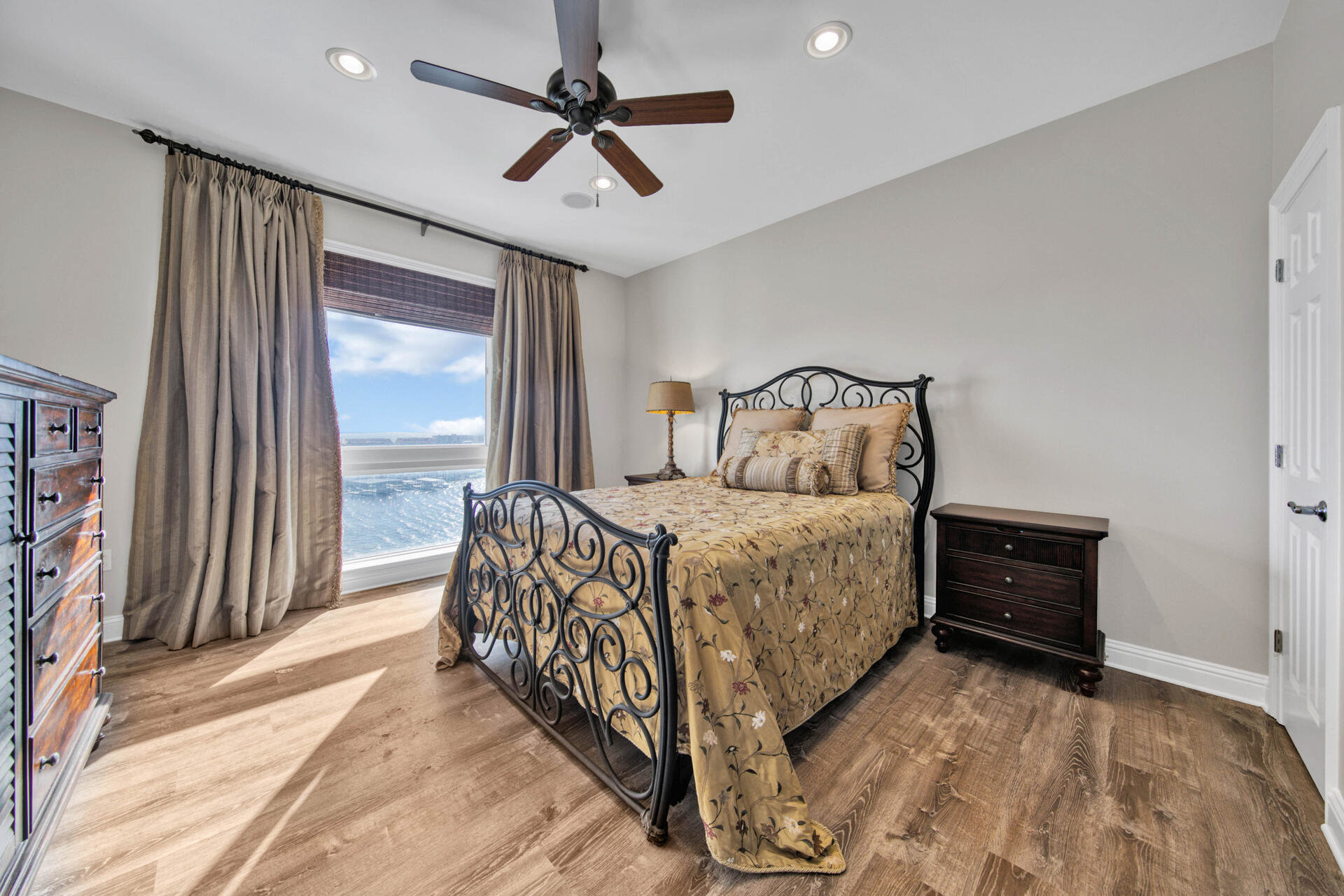 Bedroom in Grand Harbor Condo