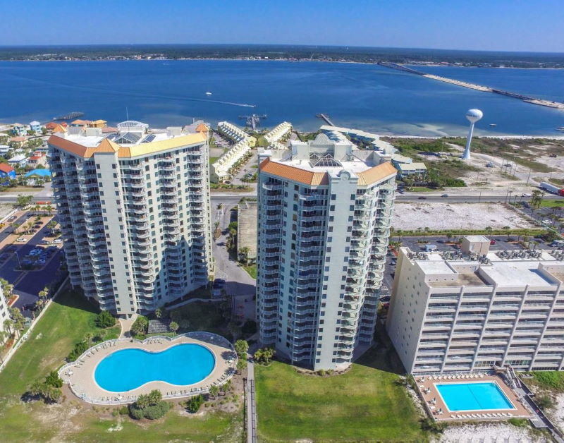 Beachfront property at  Beach Colony condo, Navarre, FL