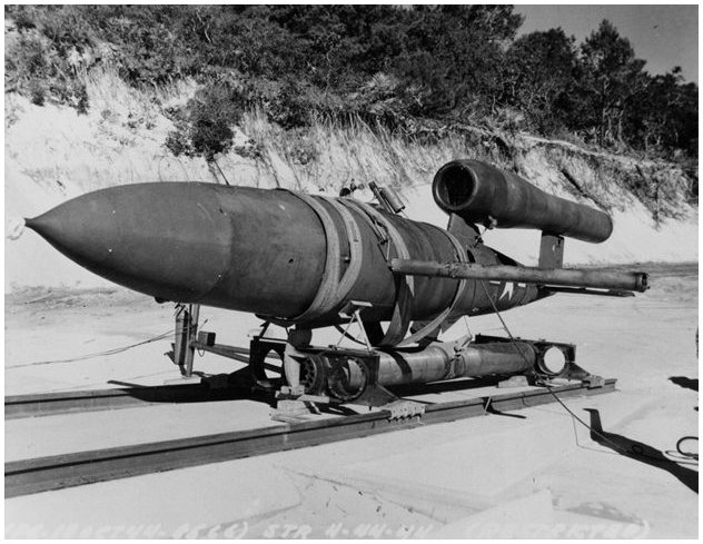 Image from Coffeen Nature Preserve of JB-2-missile