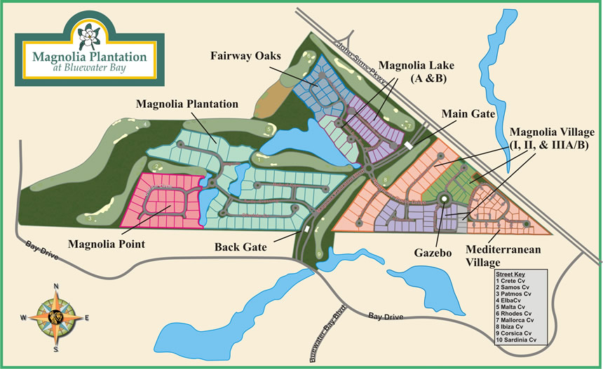 Magnolia Plantation Homes For Sale In Bluewater Bay In