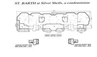 Roof Level Plan, St. Barth