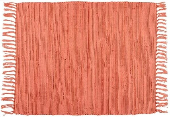 Rugs accenting Living Coral