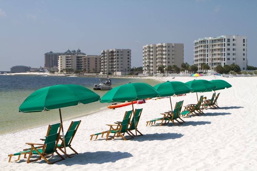 beachfront condos in Destin, Florida