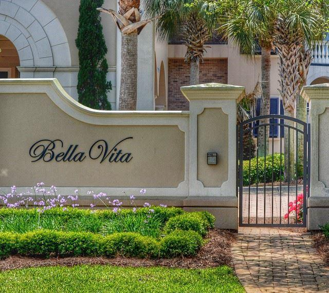Bella Vita condos, Blue Mountain Beach, Florida