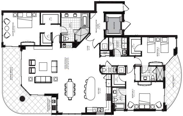 St. Kitts at Silver Shells - Bellmont floor plan