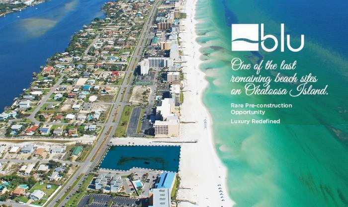 Blu Condominiums Okaloosa Island In Fort Walton Beach Fl