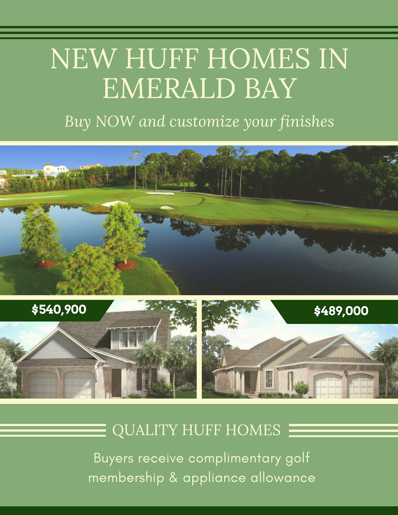Huff Homes in Emerald Bay