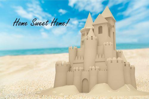 home sweet sand castle
