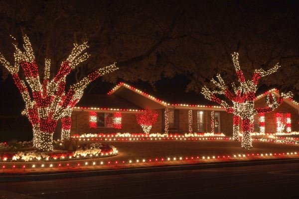 Christmas light displays in Destin, Florida