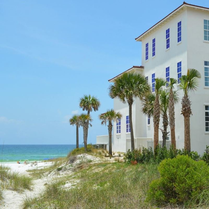 Crystal Beach homes on the Gulf of Mexico, Florida
