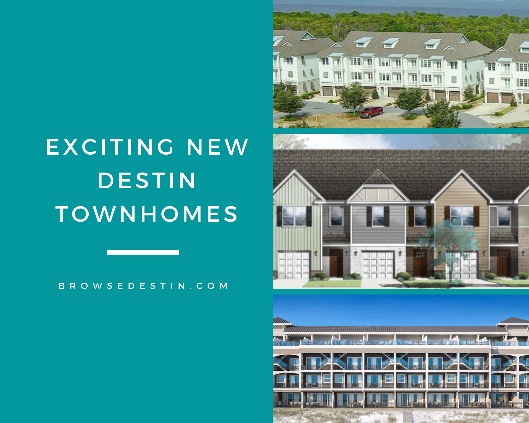 New townhomes in Destin, Florida