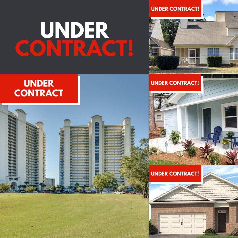 Under contract listings with Destin Real Estate