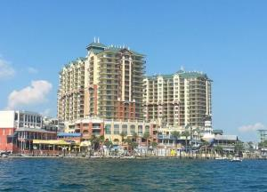 Emerald Grande condos in Destin