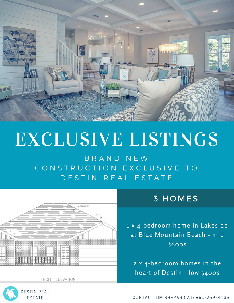 Destin exclusive listing opportunity