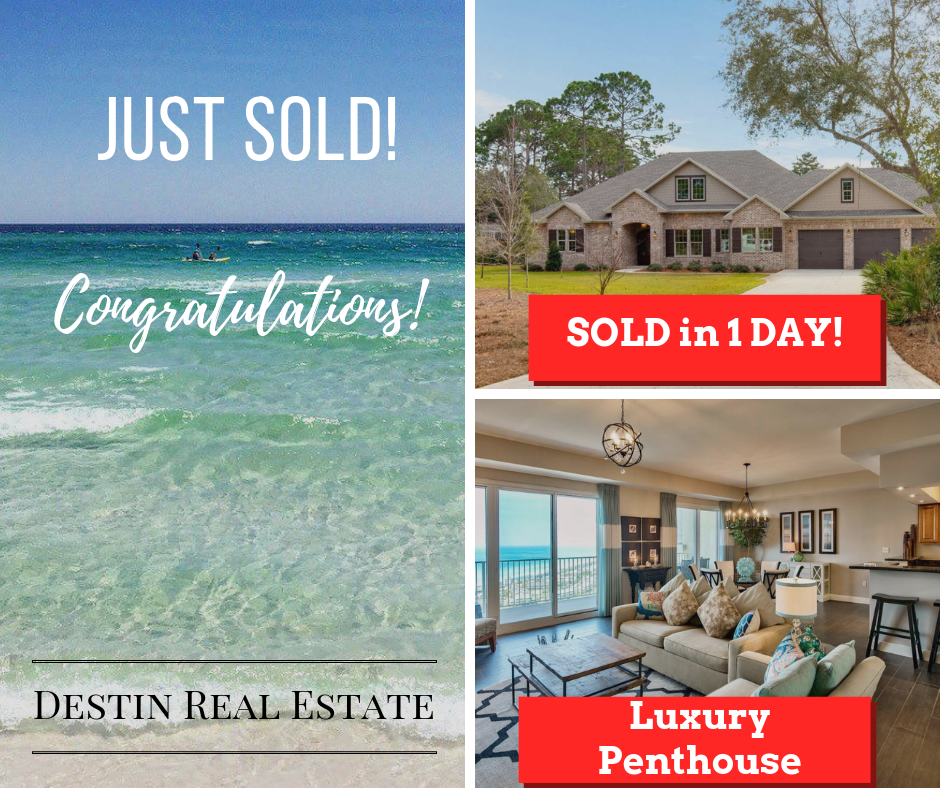 February sold listings by Destin Real Estate