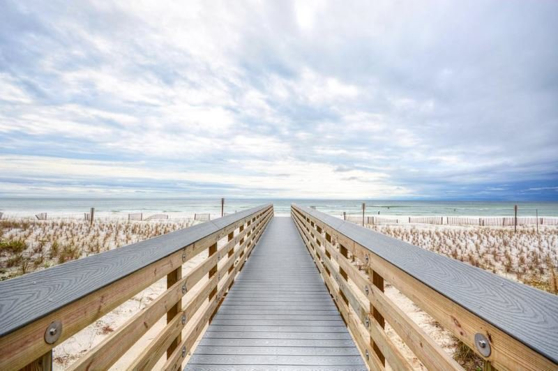 Beach walkway in Fort Walton Beach FL