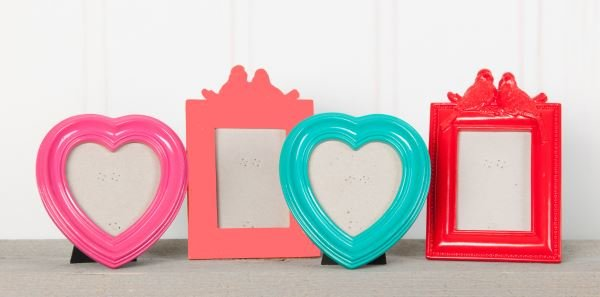 Accent frames for Living Coral