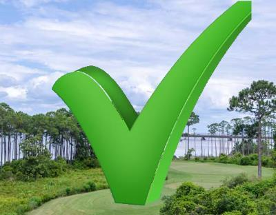 Destin golf community checklist