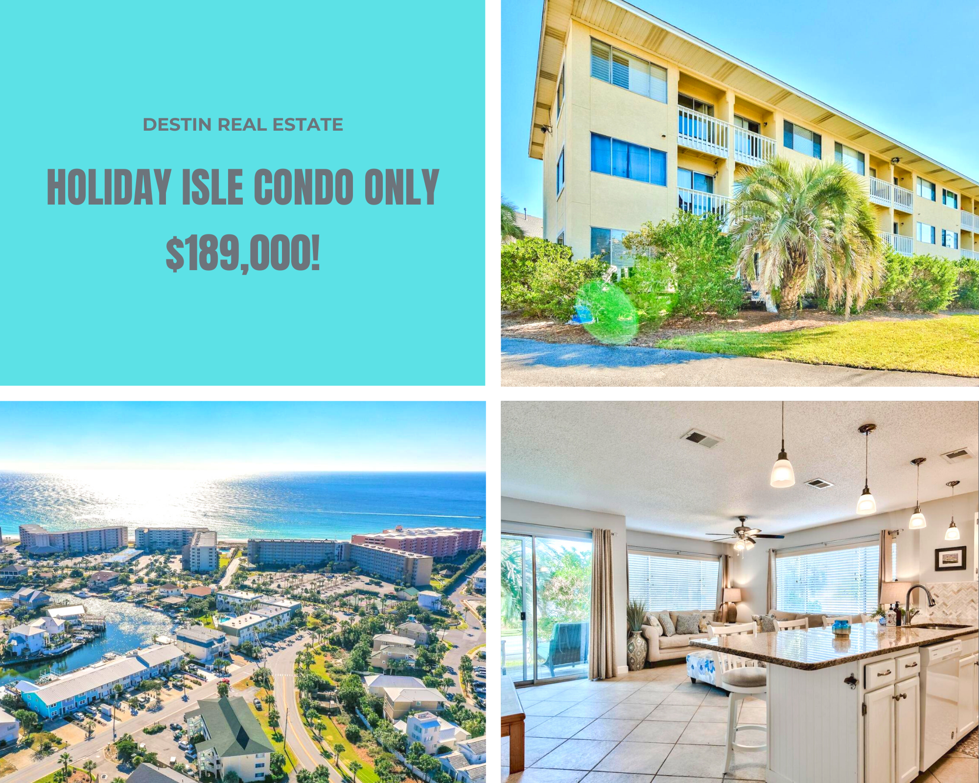 Holiday Isle condo for sale