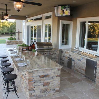 Destin outdoor kitchen