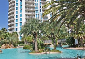 Palms of Destin beach view condos