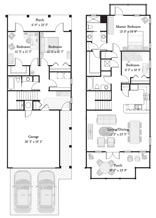 Waterscape fort walton floor plans thefloors co for Walton house floor plan