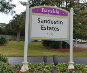 Sandestin Estates golf homes in Sandestin FL