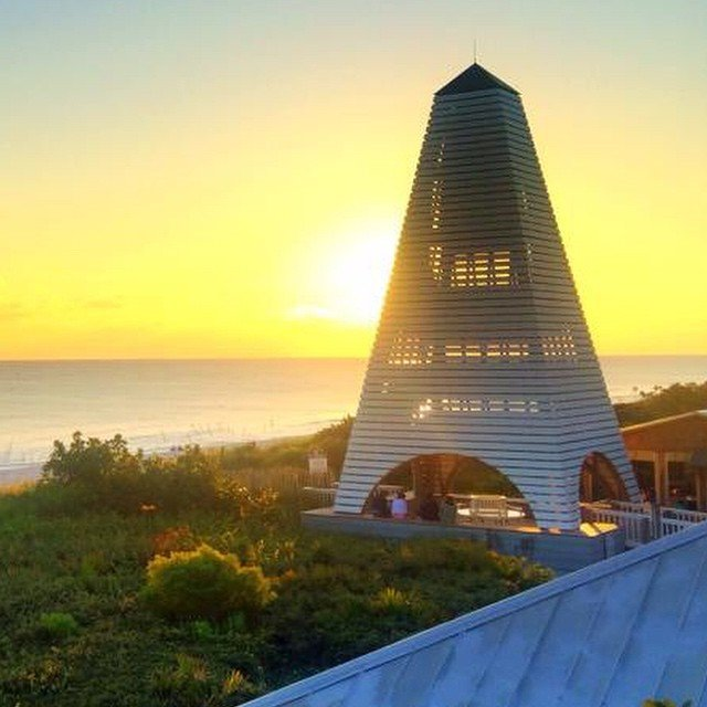 Sunset in Seaside, Florida