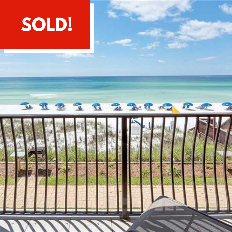 Condo Sold in Coral Reef Club by Destin Real Estate