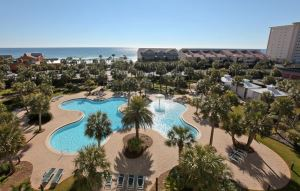 Sterling Shores beach view condos in Destin FL