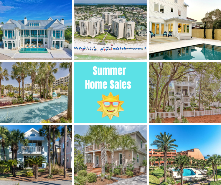 Summer solds for Destin Real Estate
