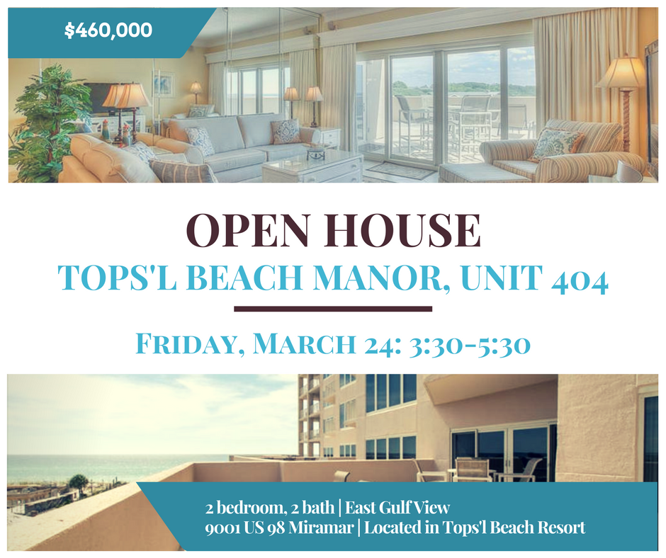 Open House Tops'l Beach Manor