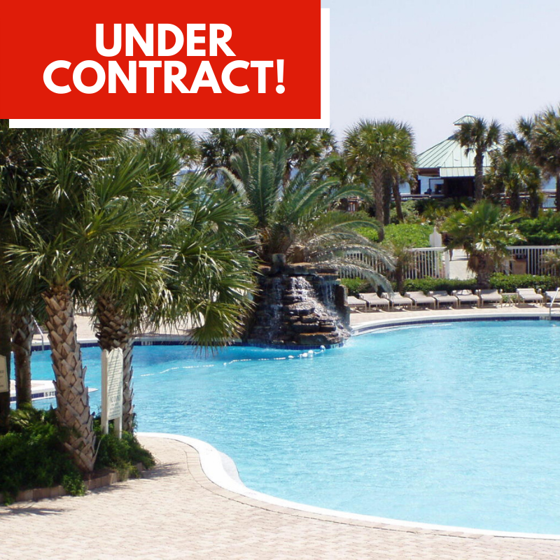 Condo Under Contract in St. Croix at Silver Shells by Destin Real Estate