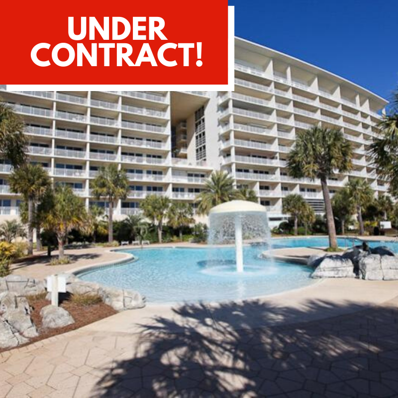 Condo Under Contract in Sterling Shores by Destin Real Estate
