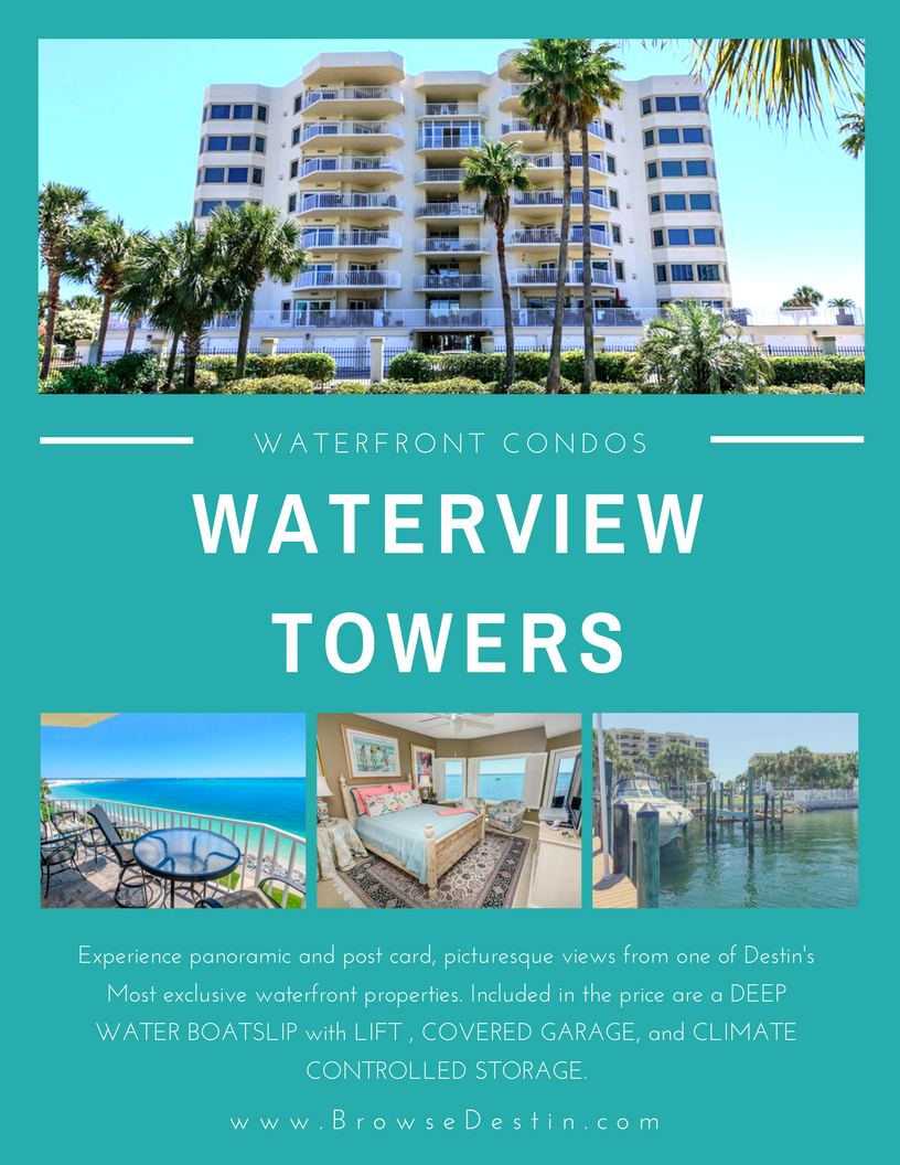 Waterview Towers listing, Destin FL Gulf front condo
