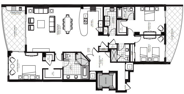 St. Kitts at Silver Shells - Westbury floor plan